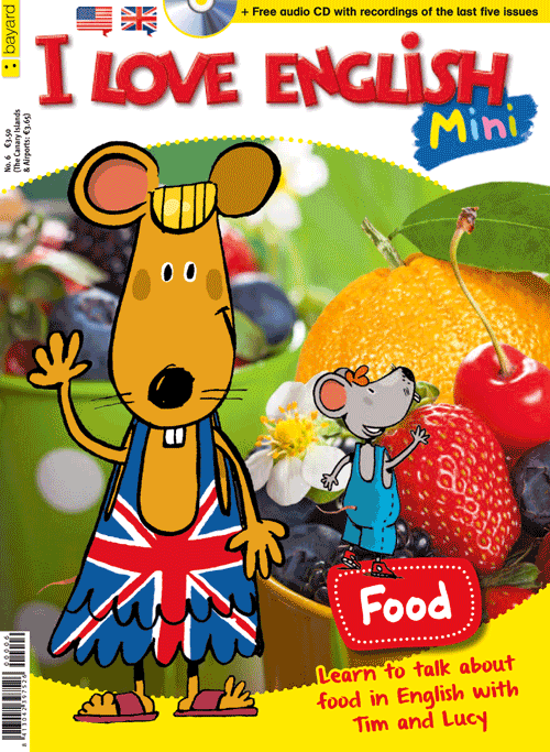 Revista infantil I Love English Mini